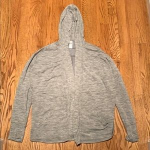An Athleta Girl sweatshirt.
